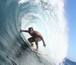 Surf vacation