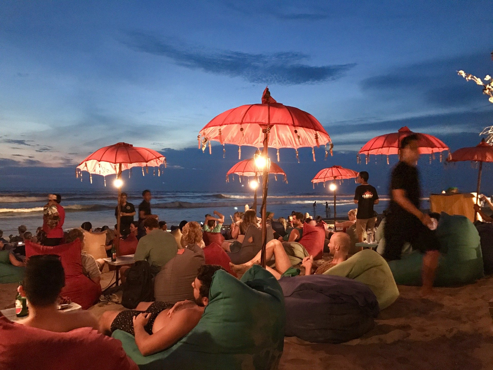 Bali beach party 2013