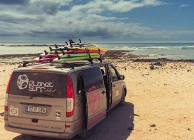 Surfcamp Lage