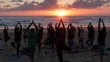 Sunset Yoga in Le Pin Sec