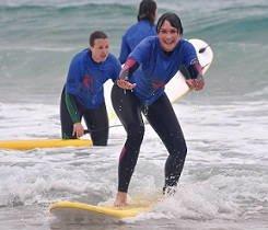 Clases de surf - Surf camp Vieux Boucau