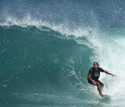 Excellent surfer