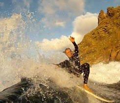Surf Instructor Yamir