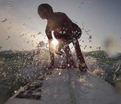 Masha Surfing