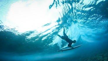 Underwater - Surfcamp Moliets