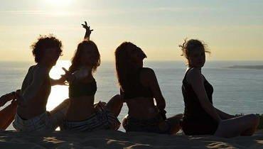 Junior Surfcamp Spanien - Strand von San Vincente