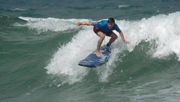 Clase de surf nivel medio