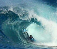 Yamir bodyboarding