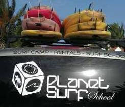Planet Surfcamps Van