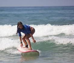 sobre del tabla de surf