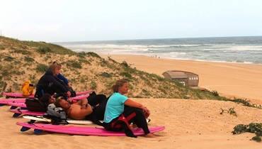 Surf lessons Vieux Boucau