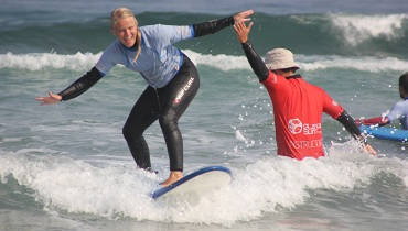 Surfunterricht auf Teneriffa