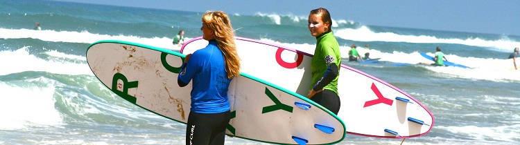 avanzar surfista