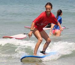 fast steps forward junior surf lessons