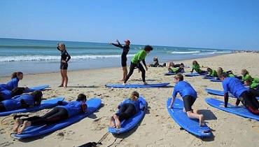 theoretical knowledge junior surf lessons