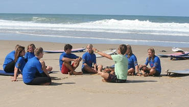 theory surf lesson Spain