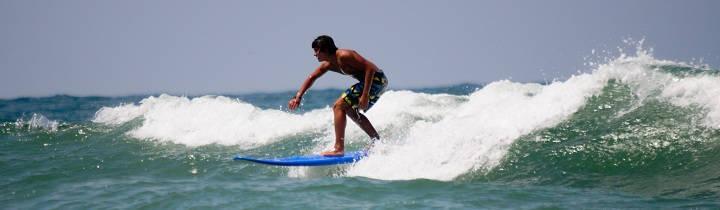 intermediate in the junior surf lessons