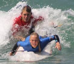 junior surf school Spain