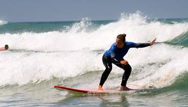 clase de surf principiante