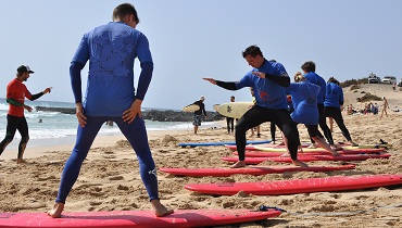 Surf school Fuerteventura: dry run