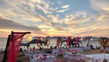 Dinner in Acapulco