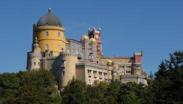 Die Paläste von Sintra
