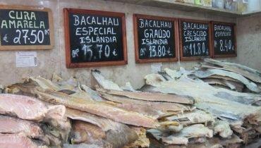 Die portugiesische Spezialität Bacalhau