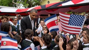Obama Visit in Costa Rica