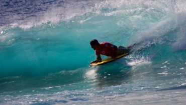 From the beginning with the bodyboard..
