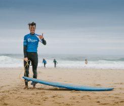 Surfen Lernen mit Planet Surfcamps in Moliets