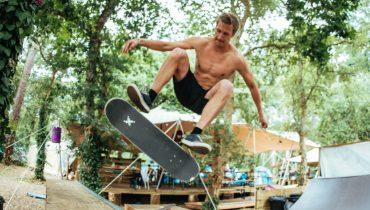 Miniramp im Surfcamp