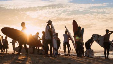 Sunset-Surfsession