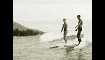 Die ersten Surfer