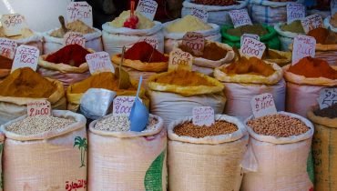 Variety of Spices in Morocco