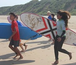 Jugendreise Surfen