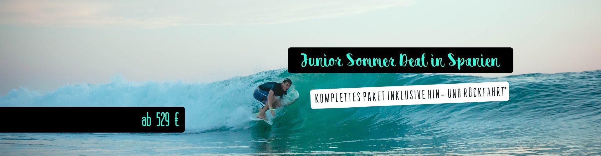 Junior Sommer Deal in Spanien