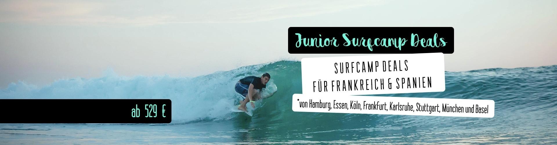 Junior Surfcamp Deals