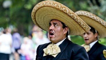 Mexikanischer Mariachi-Sänger