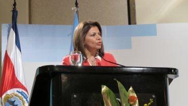 First Female President Laura Chinchilla