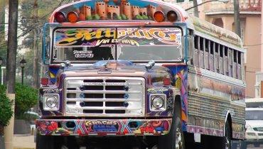 Bus in Panama