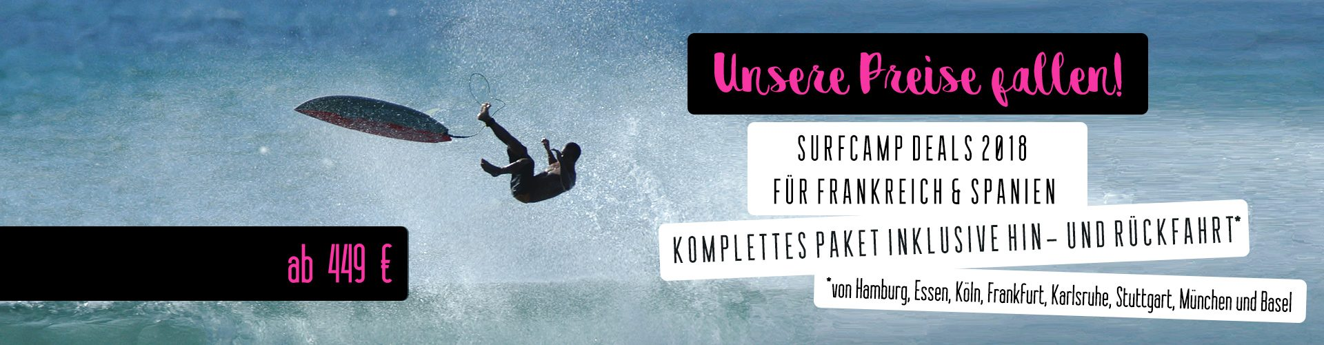 Surfcamp Deals