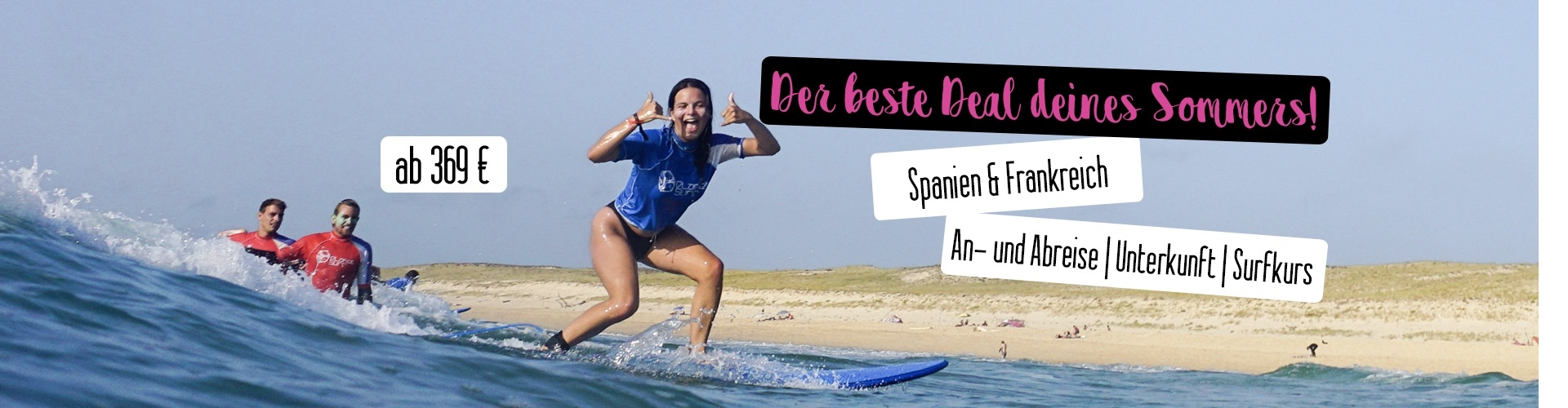 Surfcamp Sommer Deals