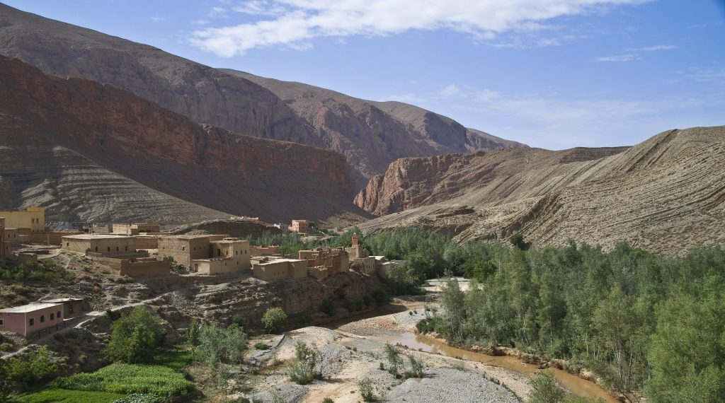 Impressing Nature at Dades Gorges