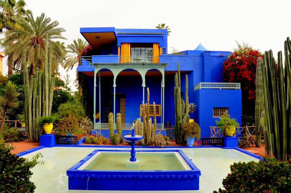 Dream from Arabian Nights: Le Jardin Majorelle
