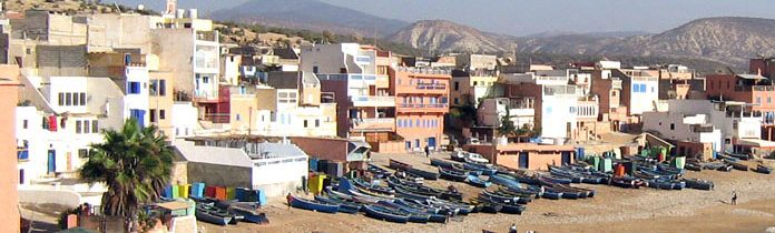 Small Fisher Village and Surfer's Mecca: Taghazout