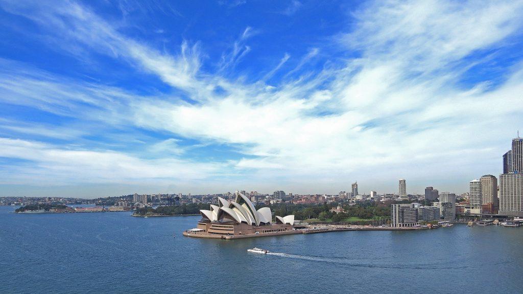 Das berühmte Opernhaus von Sydney
