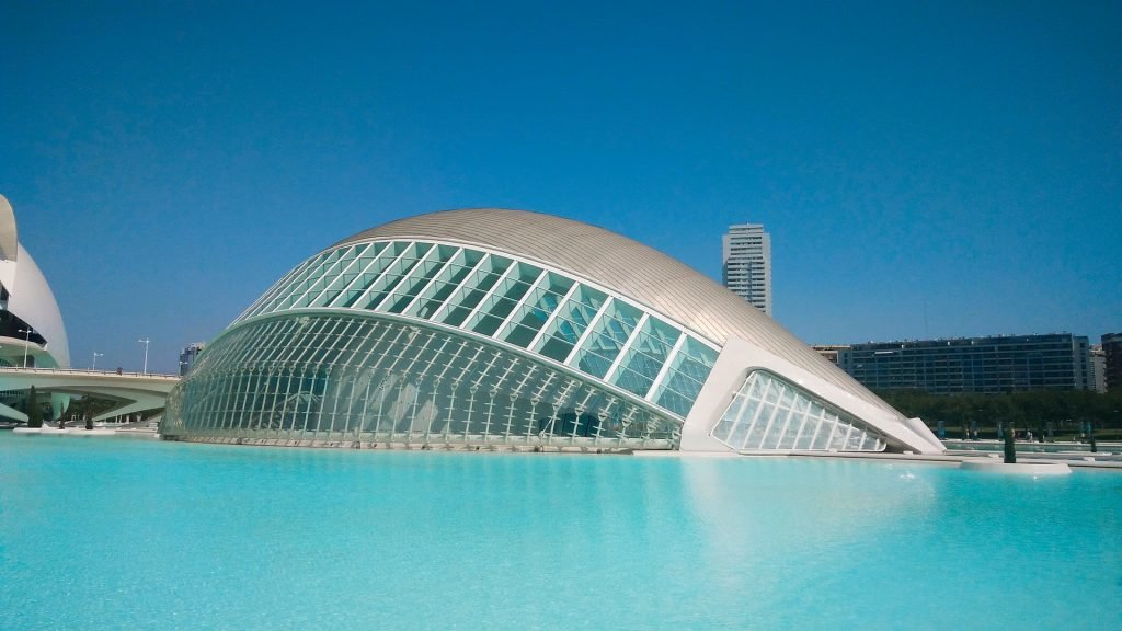 The Opera's Modern Architecture in Valencia