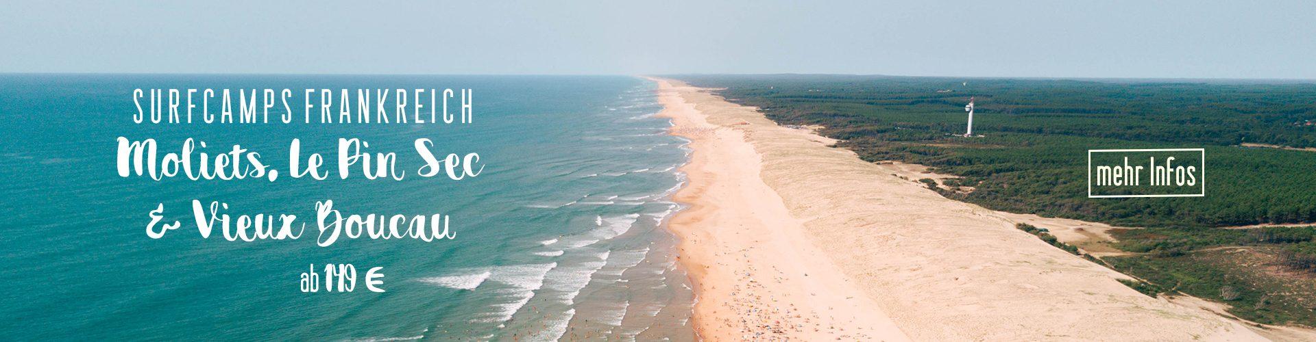 Surfcamps Frankreich