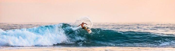 Fantastische Surfbedingungen