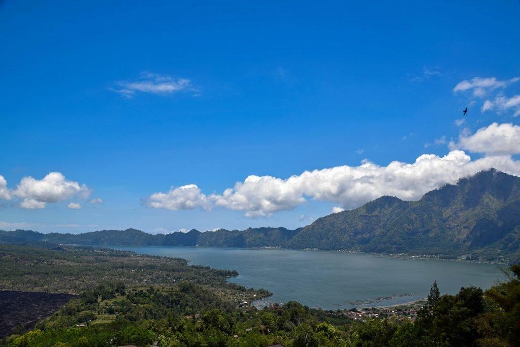 Mount Batur inland